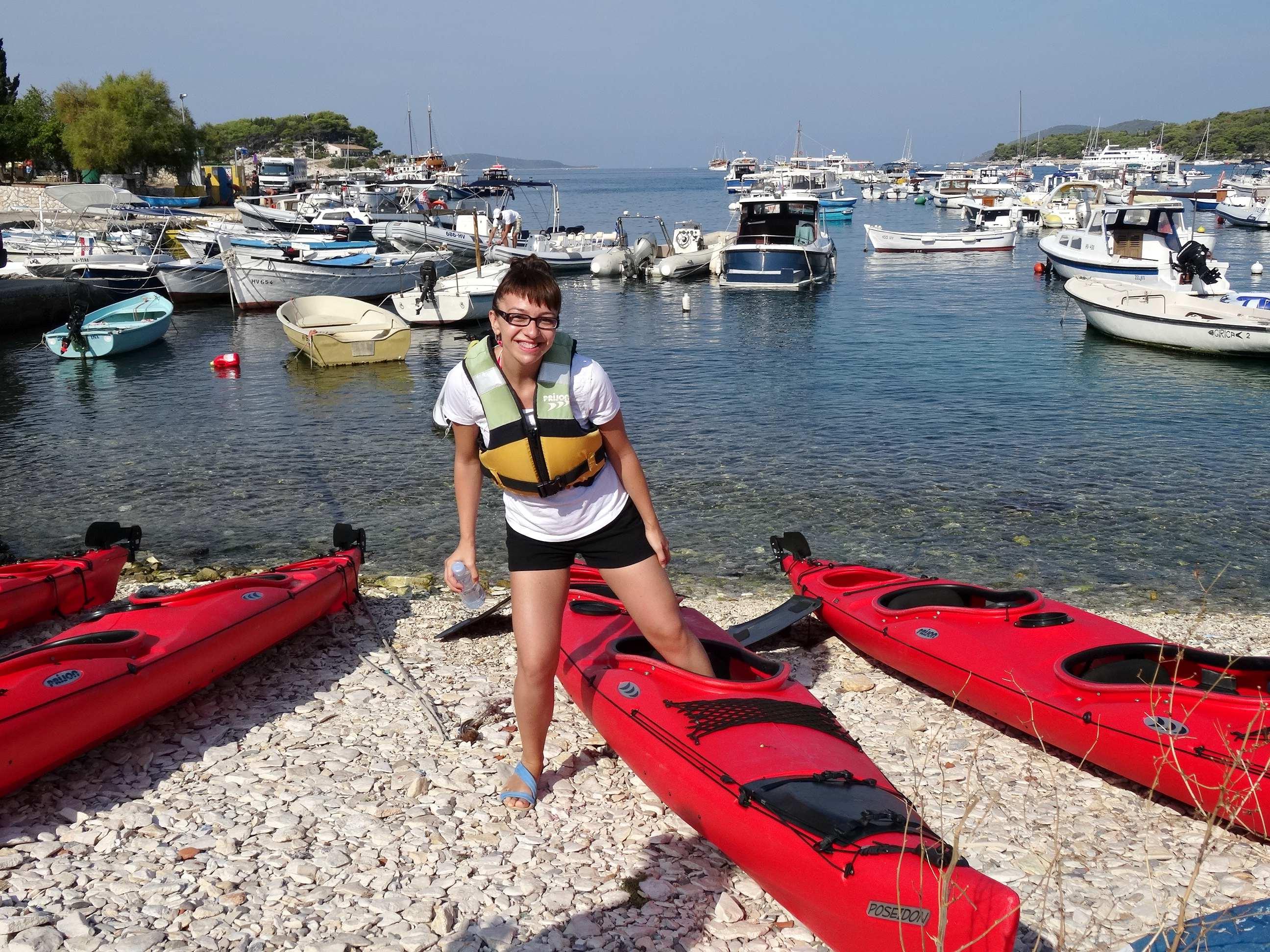 Hvar kayaking