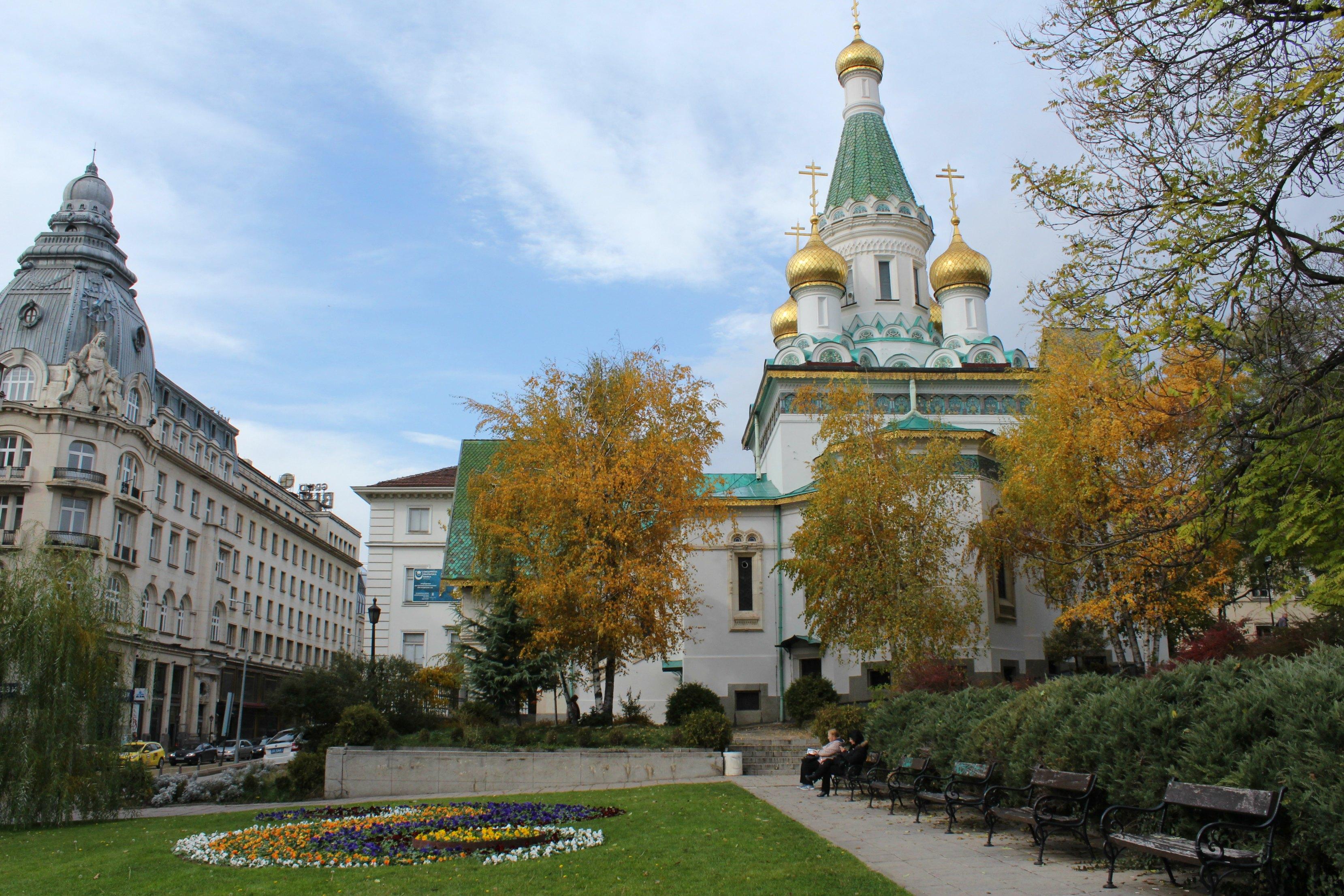 Russian church sofia