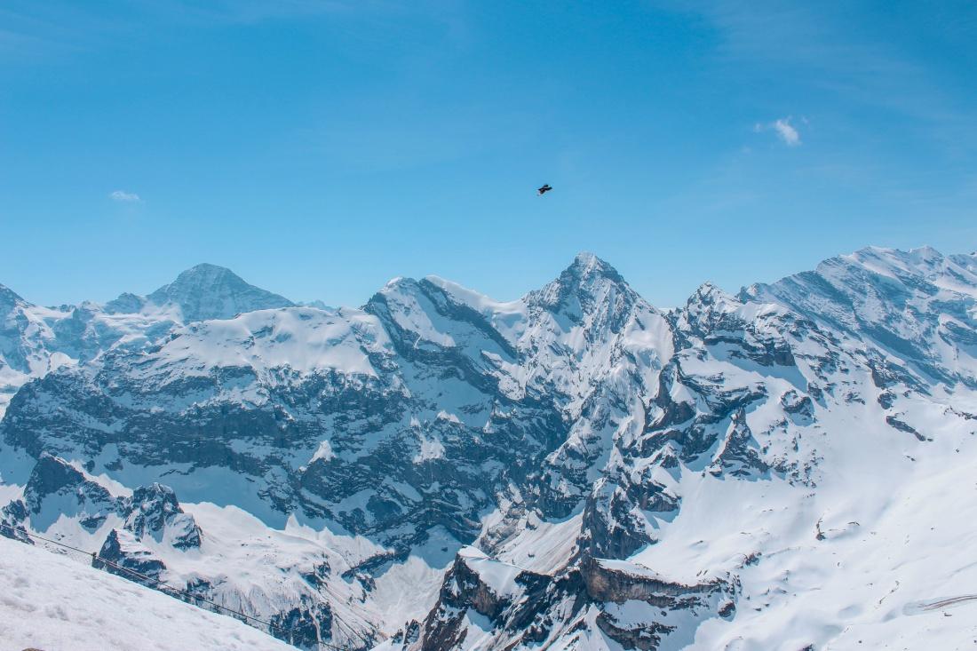 schilthorn summit views
